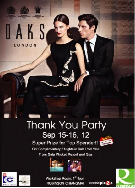 DAKS Thank You Party 2012  15-16 SEP'12