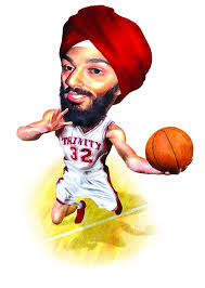 First Turbaned Sikh NCAA Basketball