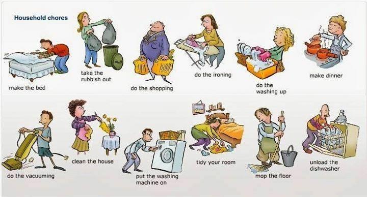Housework Exercising - ReviewFitHealth.com