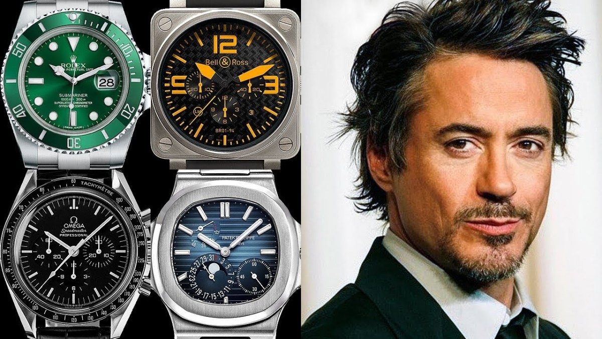 Robert Downey Jr. Watch Collection