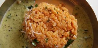 Avalakki Bath (Poha) Chutney @ South Kitchen, Kathriguppe
