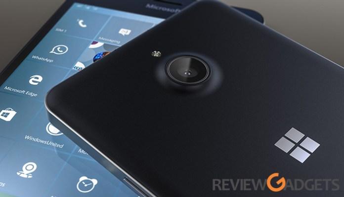 Microsoft Lumia 650 Camera
