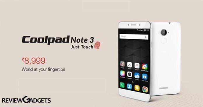 Coolpad Note 3 Plus launches in India at Rs