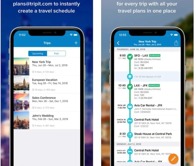 All You Have To Do Is Forward Your Travel Confirmation Emails To The Service And The App Instantly