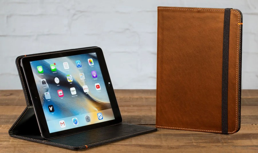 oxford, pad and quill, leather, folio, ipad, ipad case, leather case, premium,