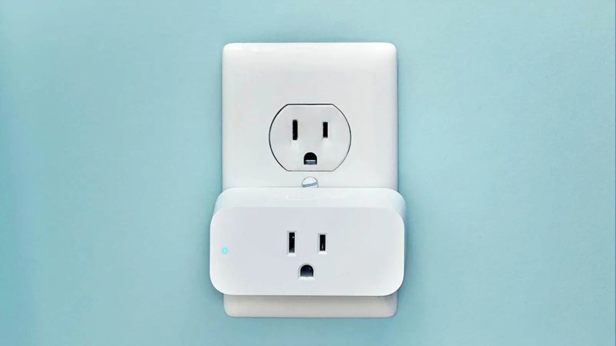 Amazon Smart Plug plugged into an outlet