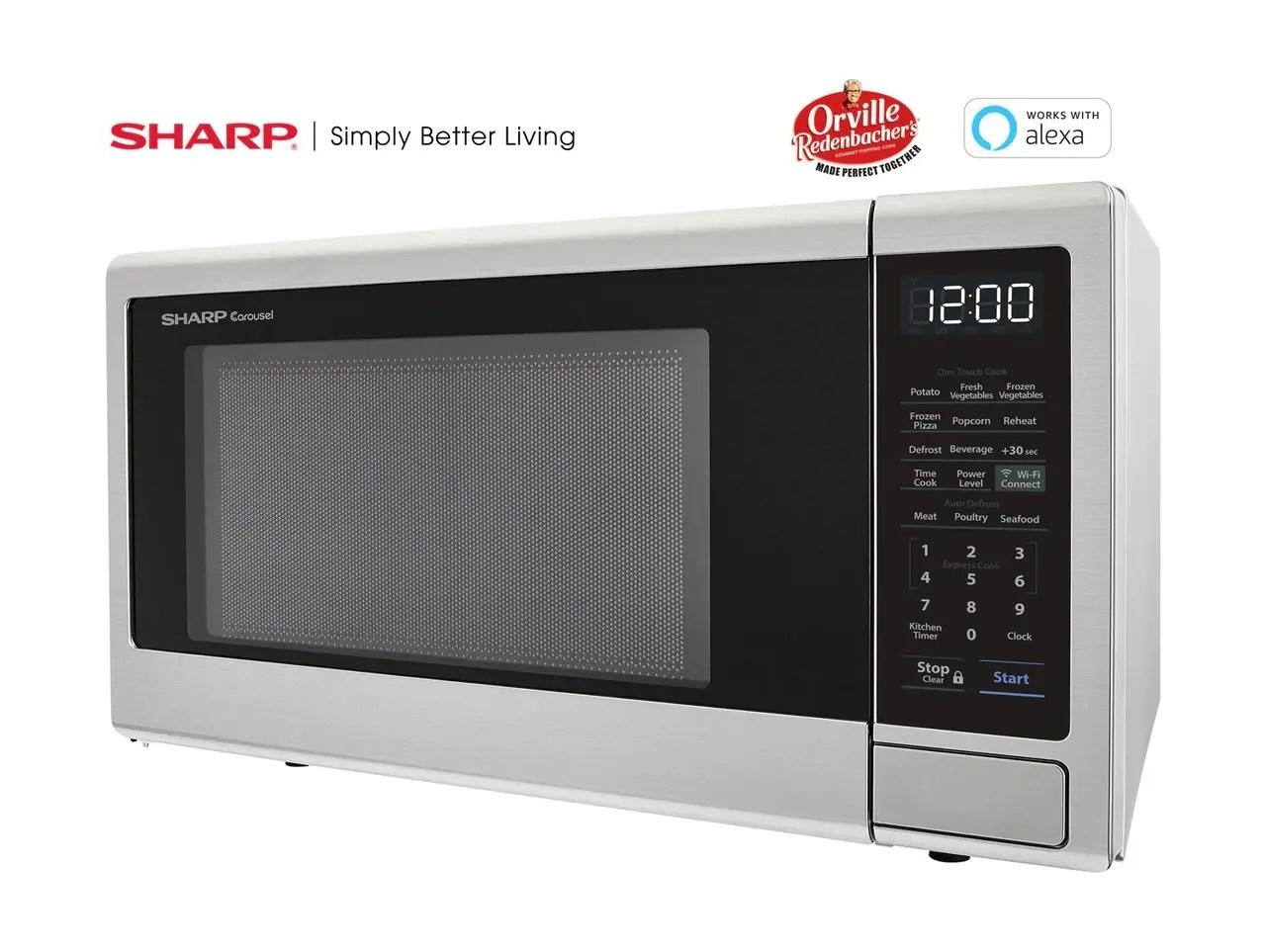 alexa compatible microwave