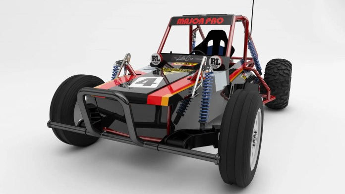 Tamiya full-size RC car
