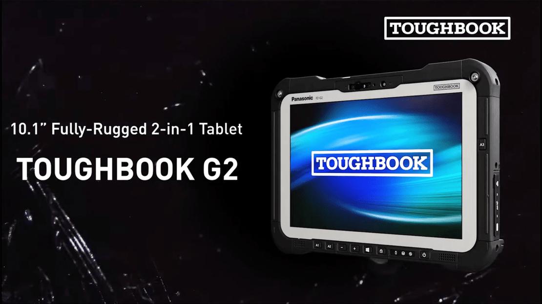The Panasonic Toughbook G2