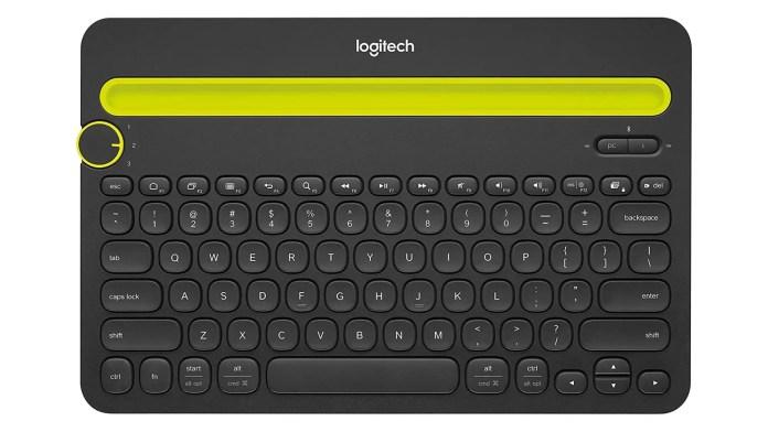 Logitech K480 Bluetooth Multi-Device Portable Wireless Keyboard