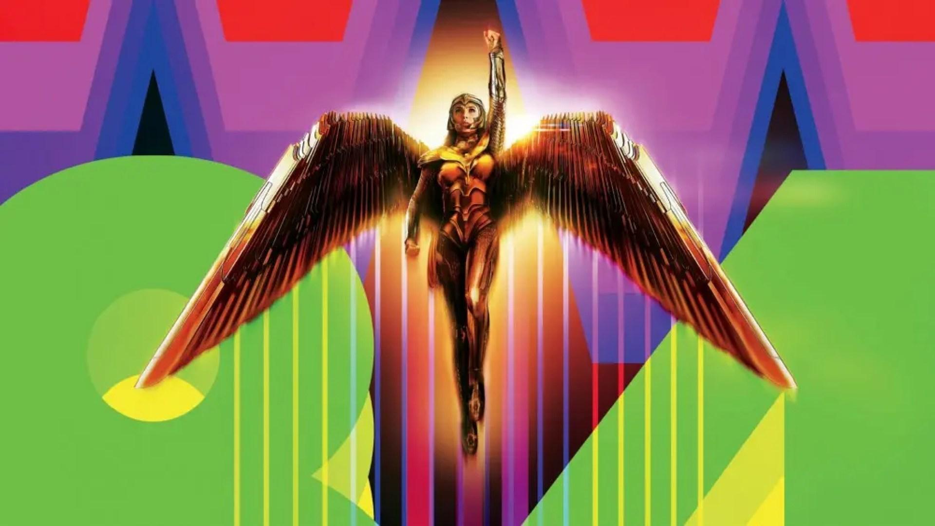 Wonder Woman 1984 promotional image