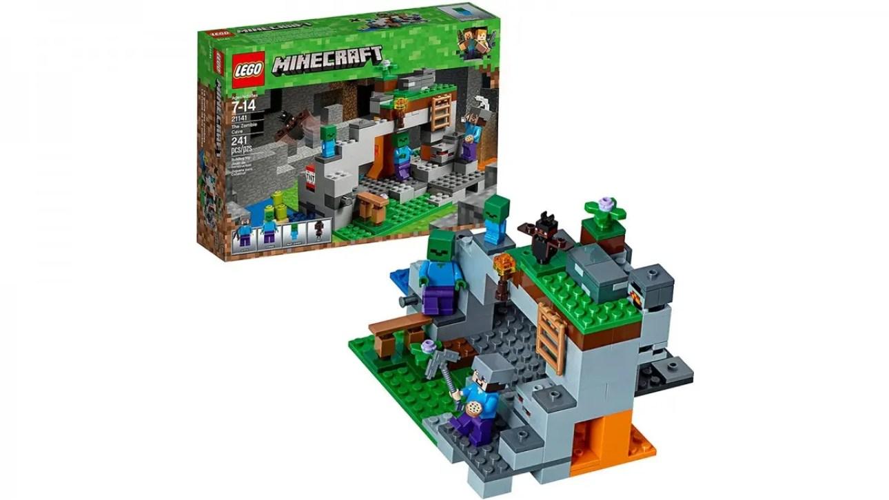 LEGO Minecraft Пещера Зомби