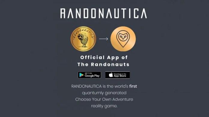 Randonautica website home page