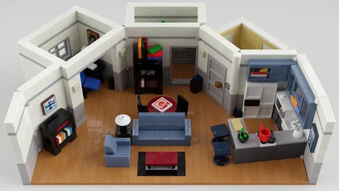 LEGO Seinfeld квартира