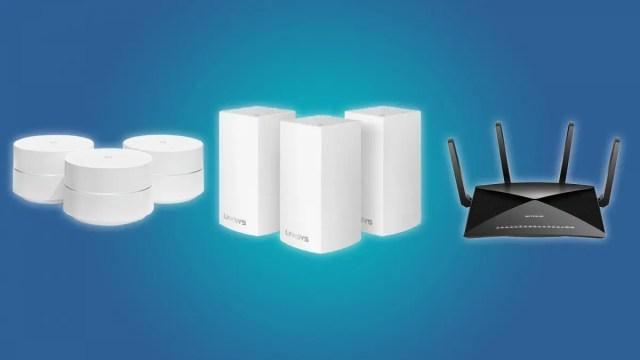 Google Wi-Fi, Linksys Velop Mesh Wi-Fi System and NETGEAR Nighthawk X10 AD7200 Router