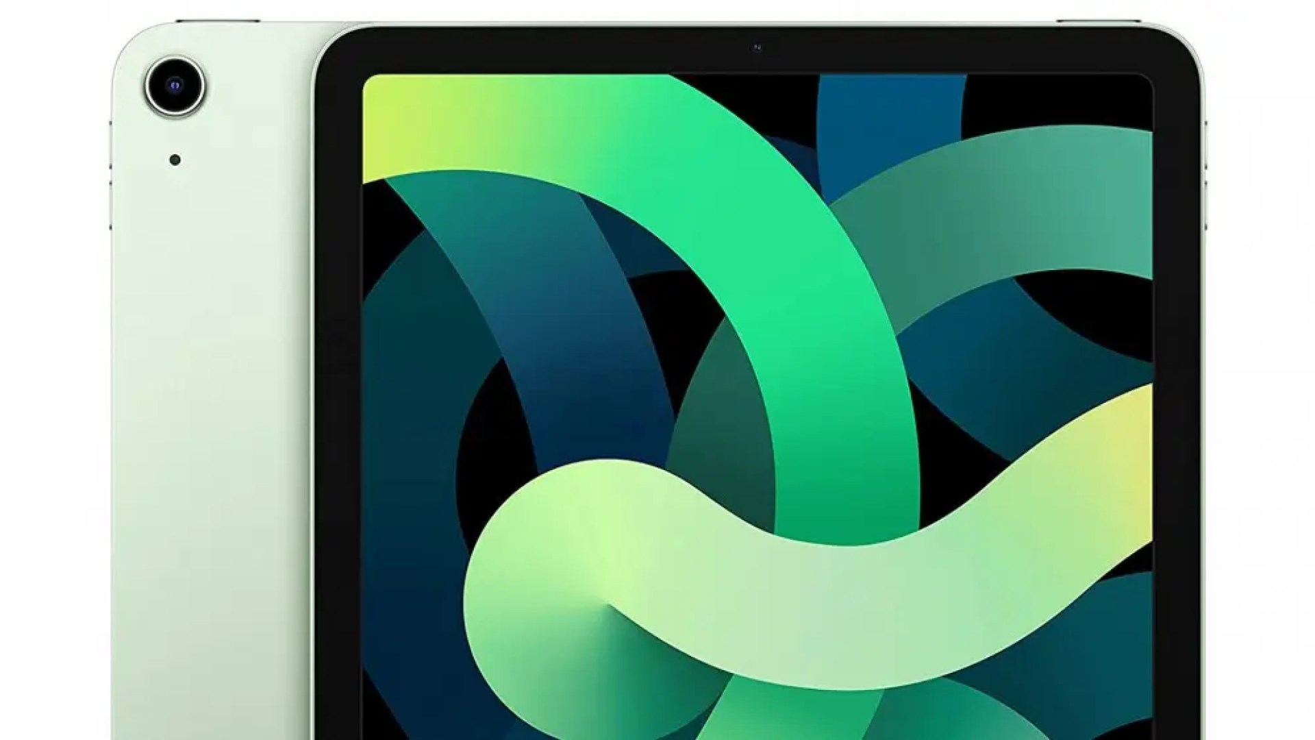 iPad Air 2020 64 GB Wi-Fi model in green