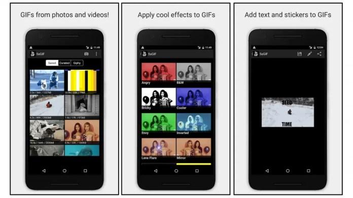 5 Seconds App GIF maker app