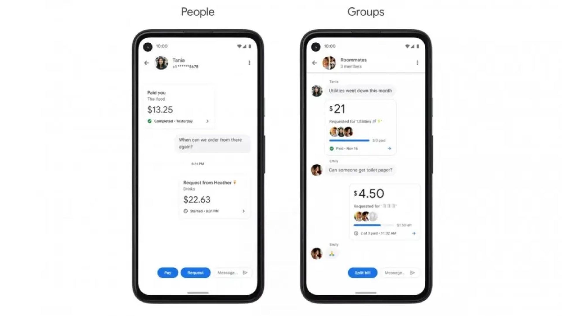 "Google Pay ""Pay"" tab"