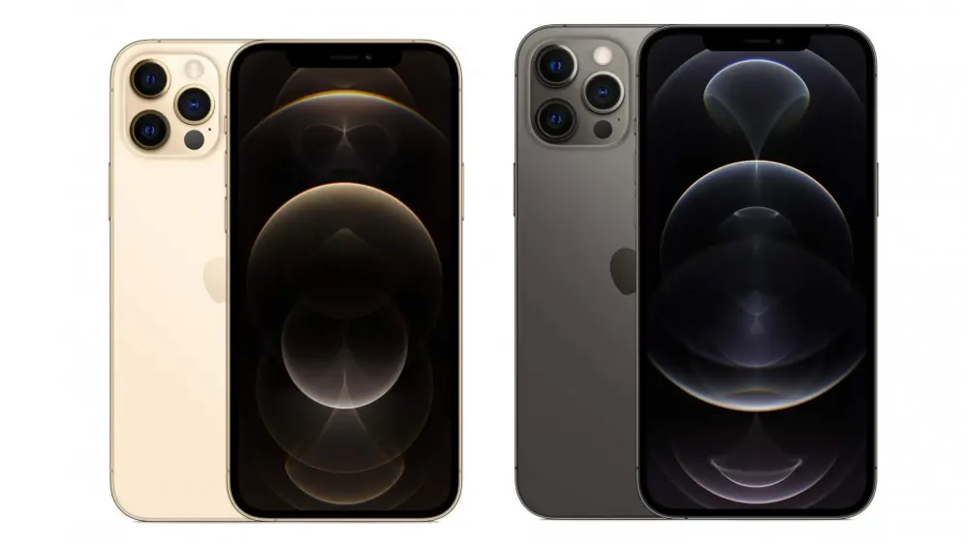 A photo of the iPhone 12 Pro and Pro Max.