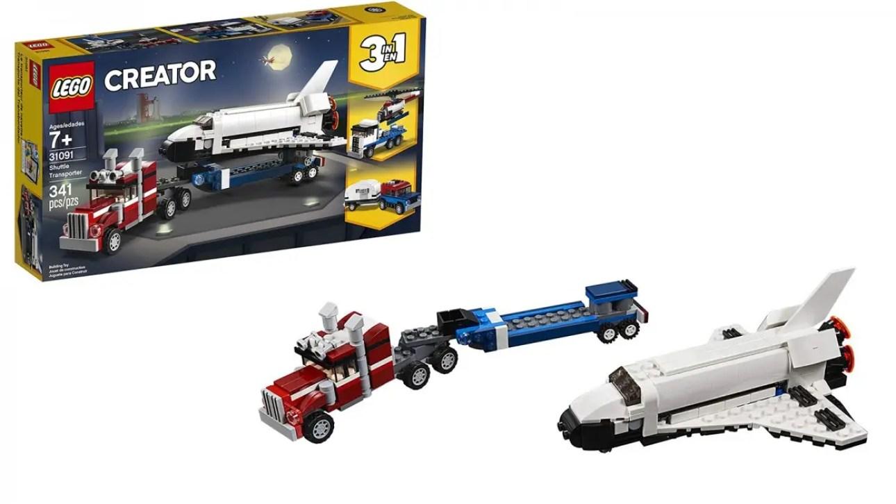 LEGO Creator 3-в-1 шаттл-транспорт