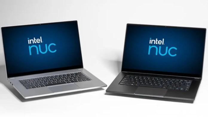 Intel NUC M15 laptop