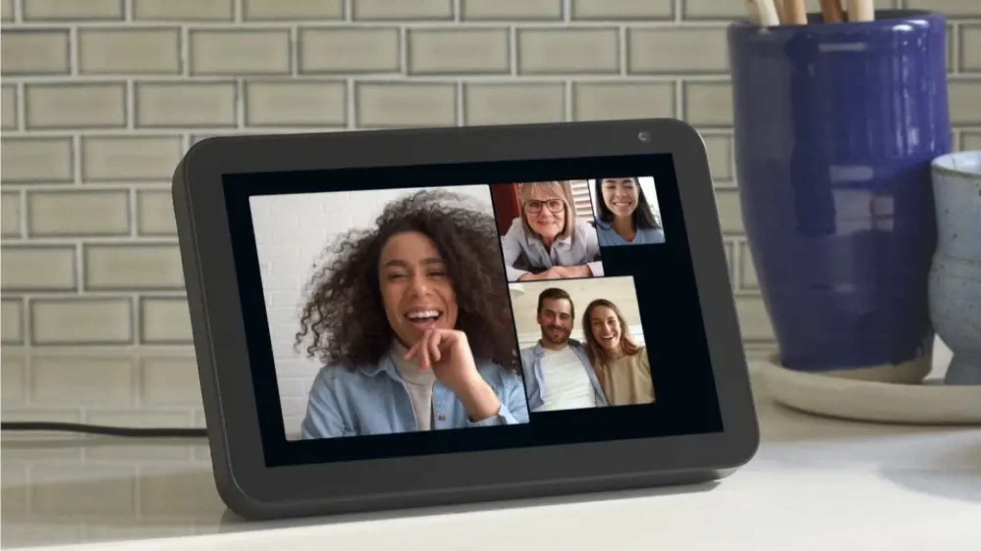 Group call on Amazon Echo device