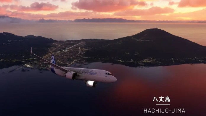 Lovely views of Japan from Microsoft's 'Flight Simulator' new game update