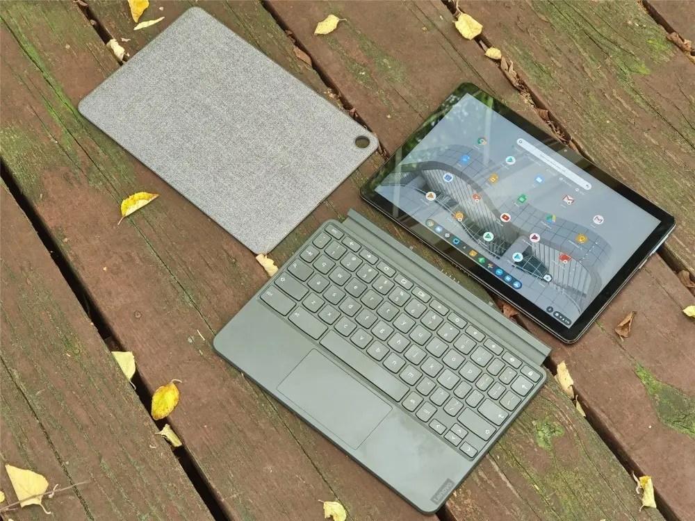 Chromebook Duet с подставкой и клавиатурой