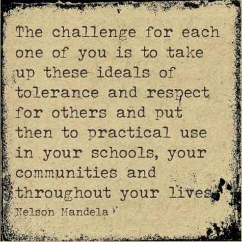 Tolerance and Respect