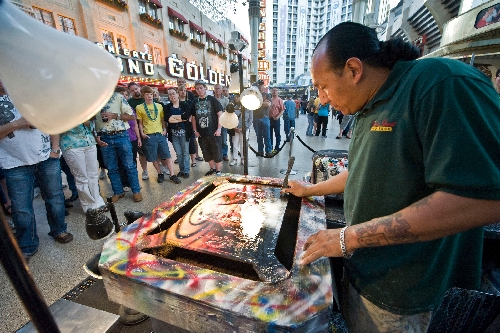 Nevadan at Work: Spray-paint artist leaves stars behind to ...