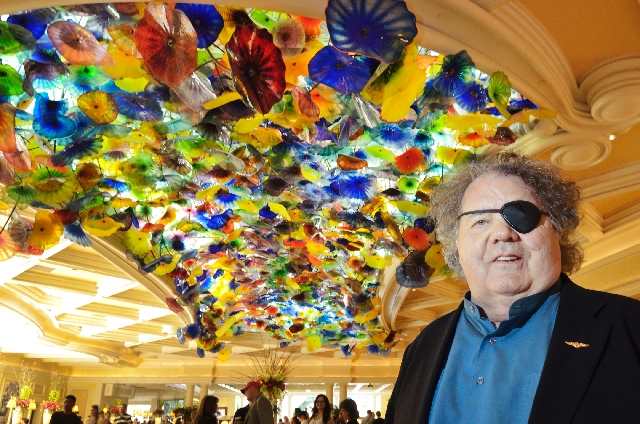 Artist Dale Chihuly Stands Beneath One Of His Most Famous Pieces Fiori Di Como