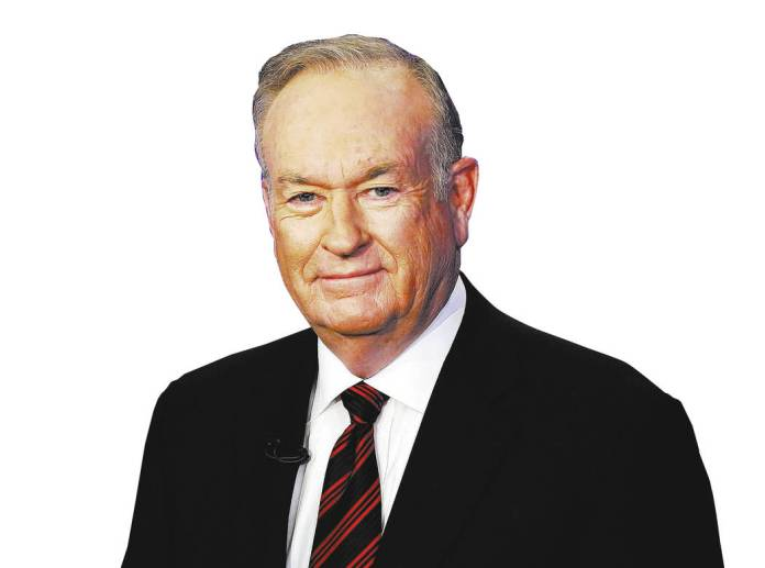 FILE - In this Oct. 1, 2015 file photo, Bill O'Reilly of the Fox News Channel program