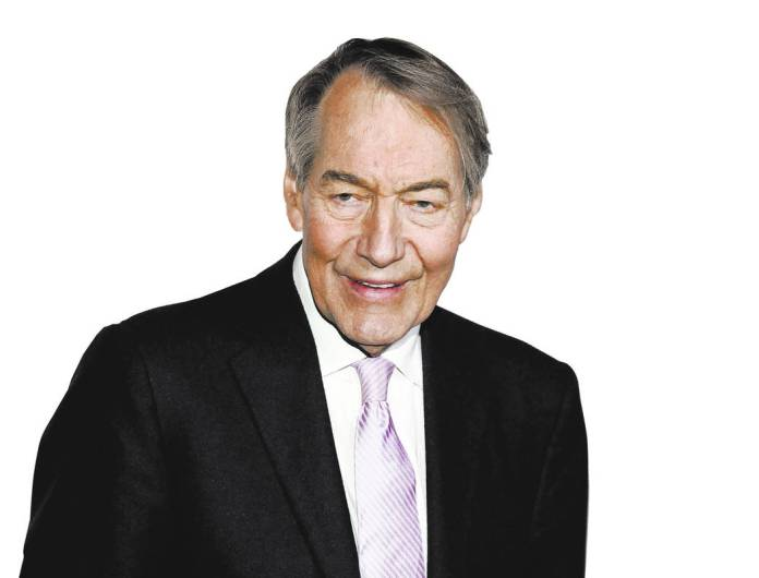 FILE - In this April 13, 2017 file photo, Charlie Rose attends The Hollywood Reporter's 35 Most Powerful People in Media party in New York. The Washington Post says eight women have accused televi ...