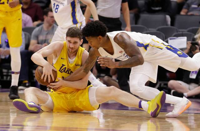 Lakers' Svi Mykhailiuk continues to impress at NBA Summer League ...
