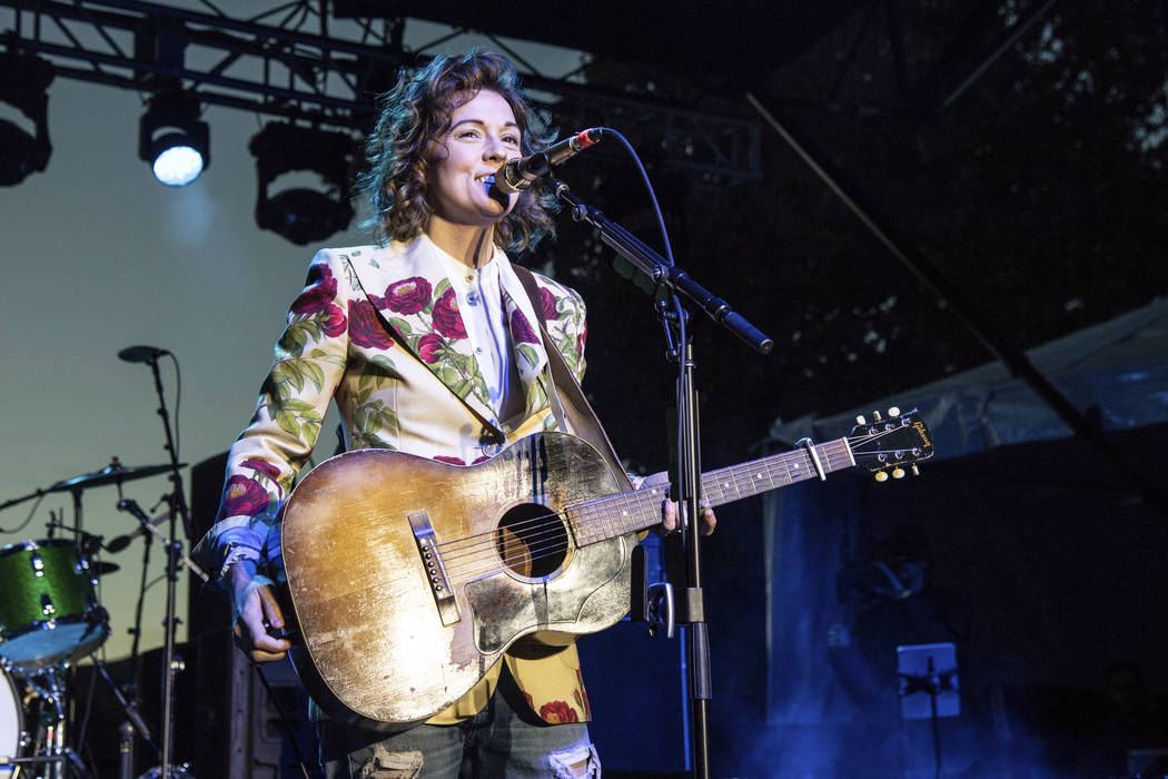 FILE - In this Sunday, Dec. 2, 2018 file photo, Brandi Carlile performs at One Love Malibu at King Gillette Ranch in Calabasas, Calif. A list of nominees in the top categories at the 2019 Grammys, ...