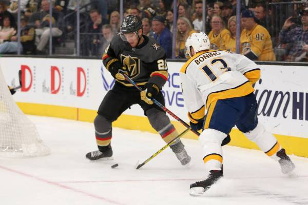 GAME DAY: Golden Knights face test from high-scoring Predators