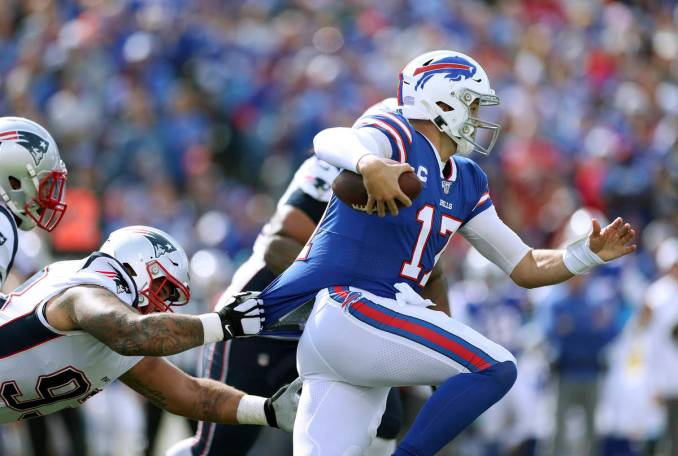 Sharp bettors pick side, total in Bills-Patriots 'MNF' matchup