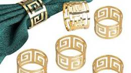 Derker Gold Napkin Rings