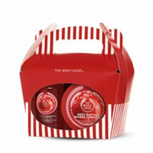 The Body Shop Frosted Cranberry Treat Box Gift Set