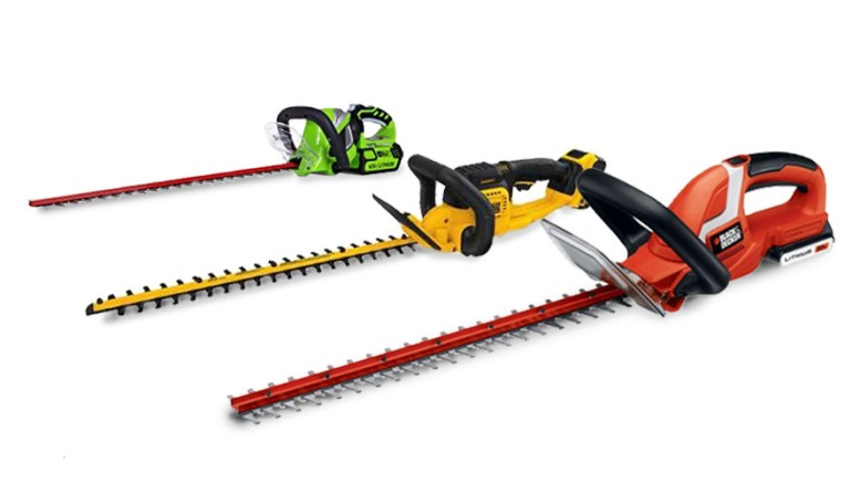 Best Cordless Hedge Trimmers Reviews