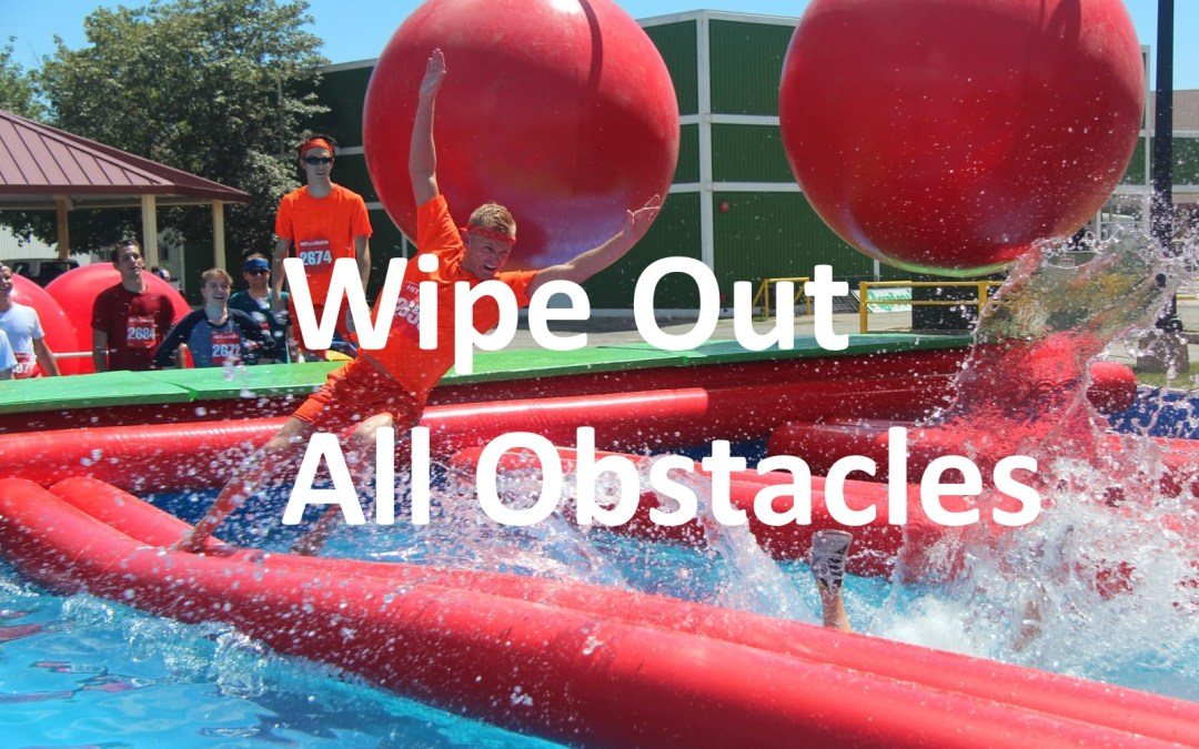 Wipeout 5K Obstacle Run Boston