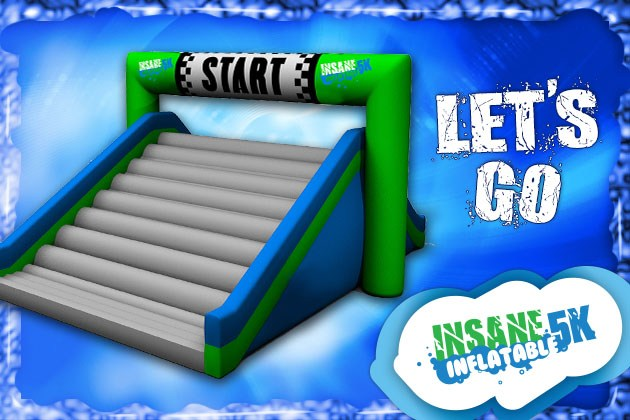 Insane Inflatable 5k All Obstacles – Cape Cod 2015 – Wicked Fun