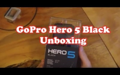 Unboxing Go Pro Hero Black & Powering UP!!