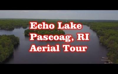 Echo Lake – Pascoag, RI – Aerial Tour