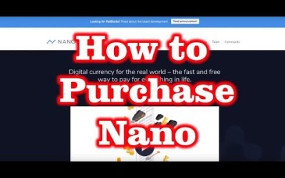 How to Purchase Nano with CoinFalcon