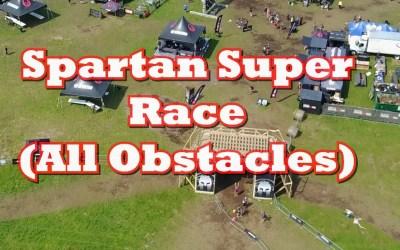 Spartan Super Race ( All Obstacles) Mud Run
