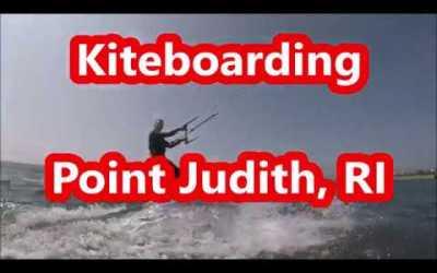 Kiteboarding Point Judith, RI