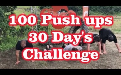 100 Push ups for 30 Days Challenge