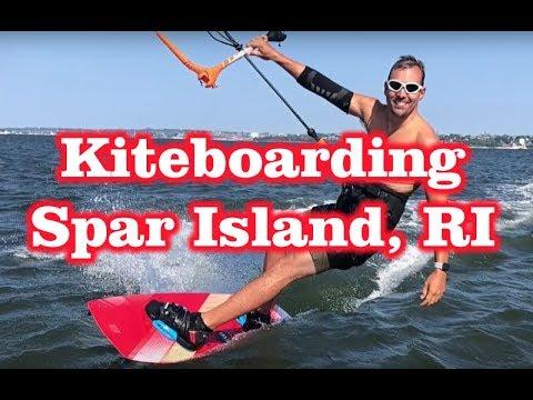 Kiteboarding Spot – Spar Island – Bristol, RI