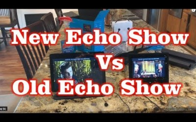 New Amazon Echo Show (2-Gen) vs Old Echo Show (1st-Gen)